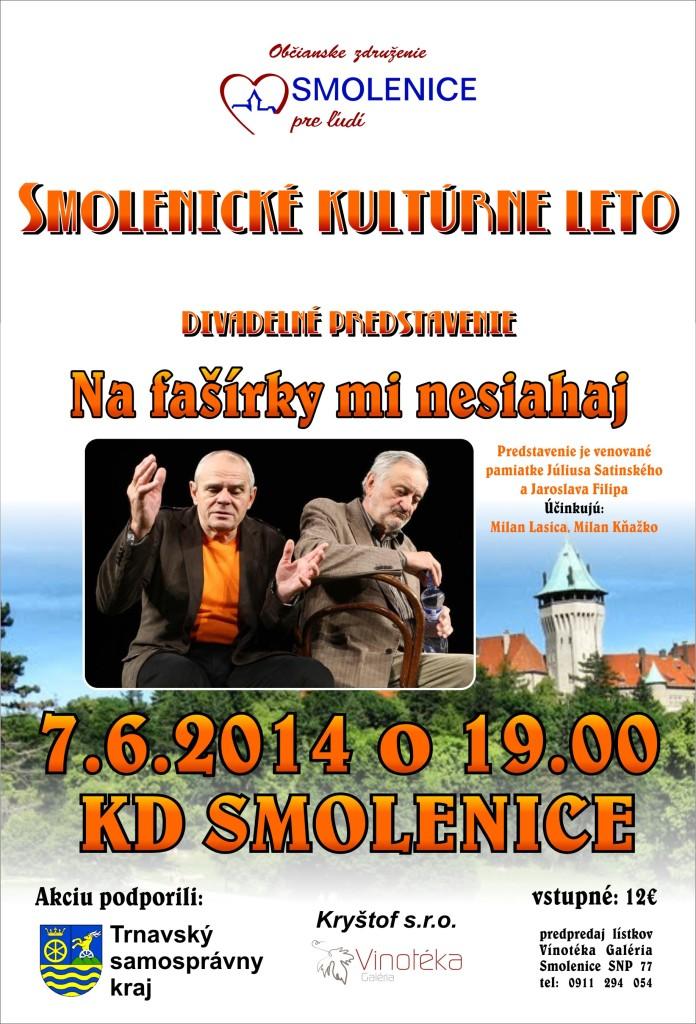 Smolenické kultúrne leto 2014.